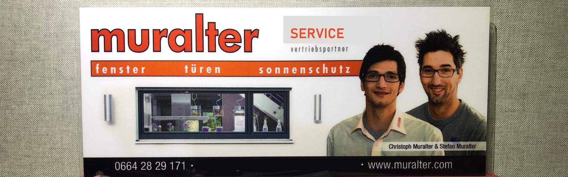 Muralter - Servicearbeiten